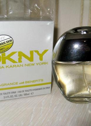 Обворожительный парфюм donna karan dkny be delicious skin hydrating 100ml