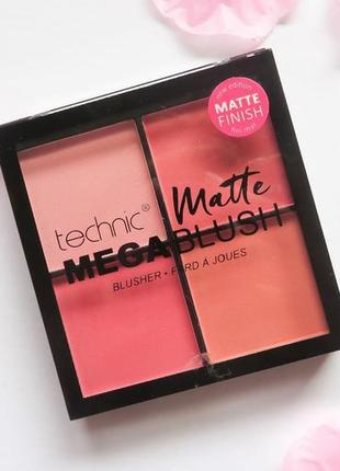 Рум'яна technic matte mega blush