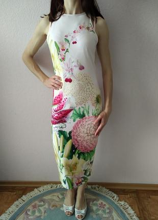 Летний костюм платье и накидка ted baker3 фото