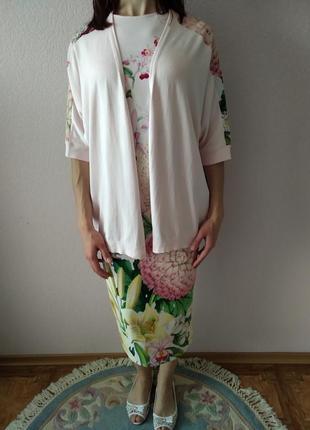 Летний костюм платье и накидка ted baker2 фото