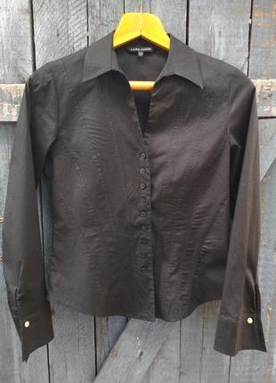 Стильная рубашка с запонками