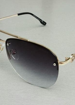 Versace очки капли унисекс солнцезащитные линзы серые с градиентом