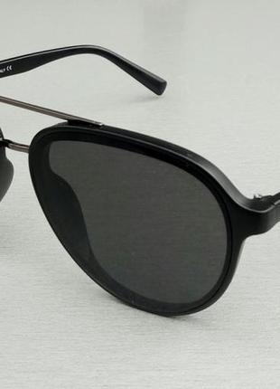 Giorgio armani очки капли солнцезащитные унисекс черные