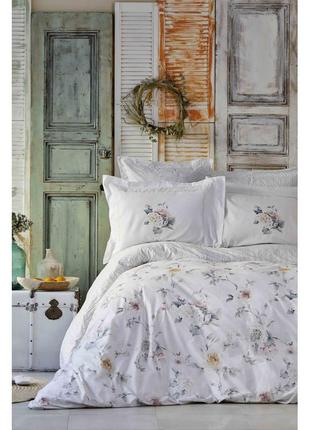 Постельное белье karaca home ранфорс - luminosa полуторная постель