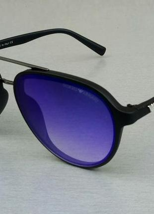 Giorgio armani очки капли солнцезащитные унисекс синие