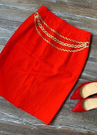 Шикарная брендовая юбка от escada 🔥 состав шерсть