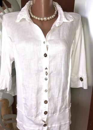 Стильная/модная/белая рубашка/бренд elly
