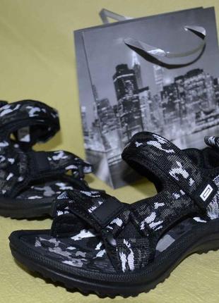 Супер цена! легкие спортивные сандали камуфляж рр 28-35