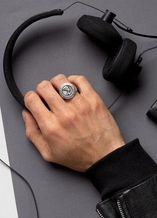 1+1=3 до 15/07 шлифованное серебристое кольцо в египетском стиле asos