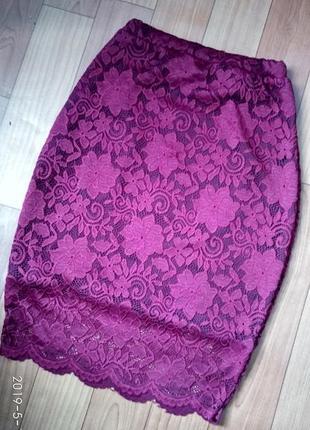 Гіпюрова юбка