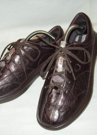 На широкую ногу. туфли ky boot   кожа. р.38