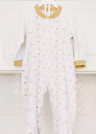 Человечек слип пижама с мишками