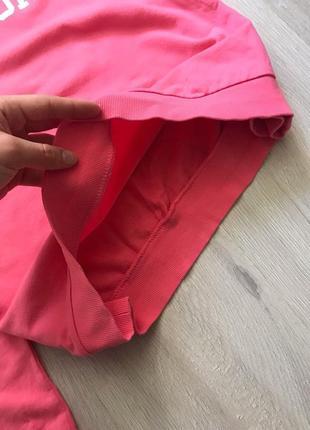 Світшот кофта рожева з принтом написом / свитшот реглан лонгслив з надписью6 фото