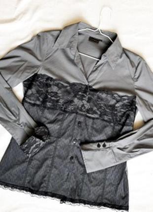 Нарядная блузка с кружевом rainbow
