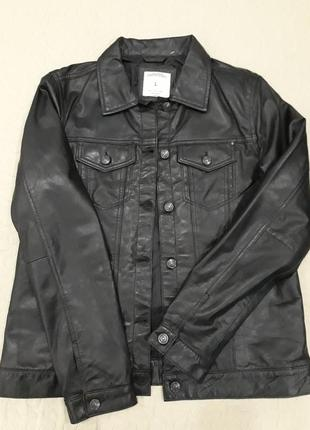Куртка zara кожа