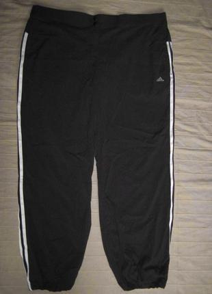Adidas climalite ( 2xl/50) спортивные штаны женские