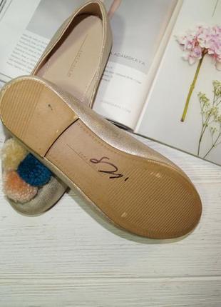 Zara! красивые туфли, балетки на низком ходу3 фото