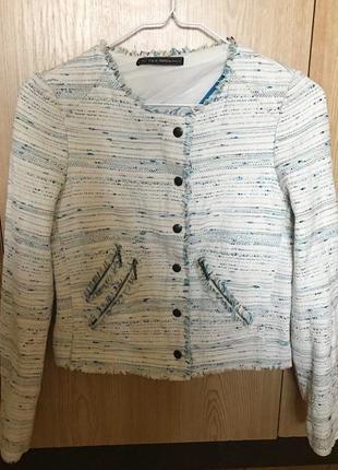 Светлый пиджак xs suiteblanco
