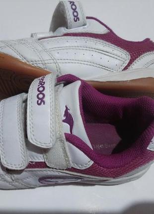 Кроссовки на липучках kanga roos