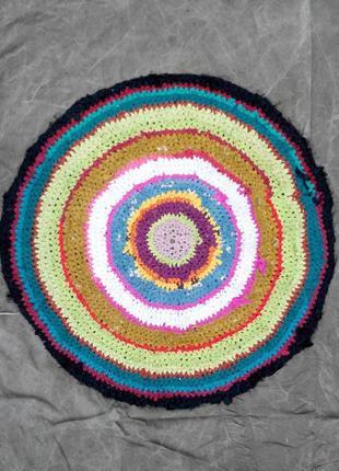 Новый круглый коврик ковер для ванны,кухни, комнаты, прихожей, детской комнаты2 фото
