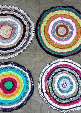 Новый круглый коврик ковер для ванны,кухни, комнаты, прихожей, детской комнаты