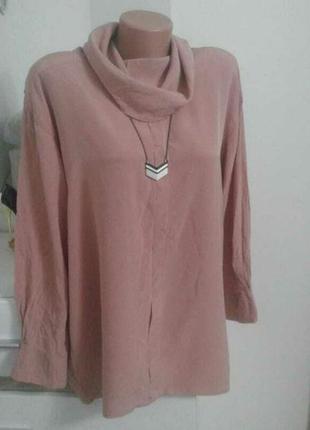 Нарядная блуза шелк 100%