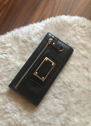 Стильный кожаный кошелёк1 фото