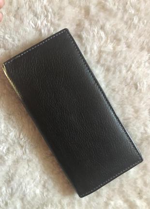 Стильный кожаный кошелёк3 фото