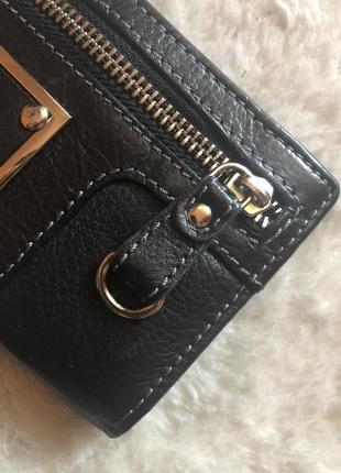 Стильный кожаный кошелёк4 фото