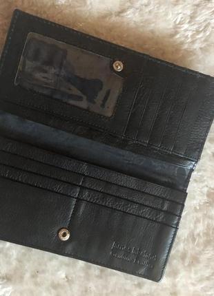 Стильный кожаный кошелёк7 фото