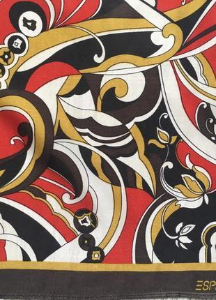 Шелковый шейный платок esprit