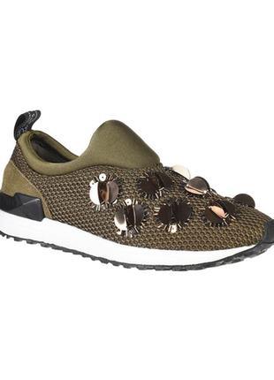 Оригинальные кроссовки слипоны liu jo