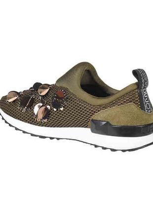 Оригинальные кроссовки слипоны liu jo3 фото