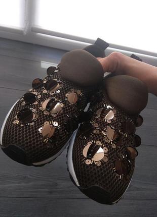 Оригинальные кроссовки слипоны liu jo9 фото