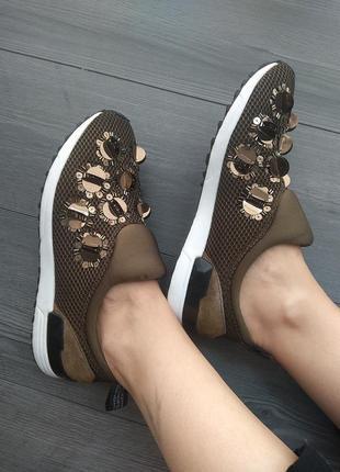 Оригинальные кроссовки слипоны liu jo10 фото