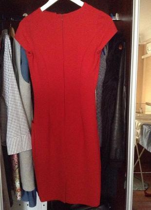 55bba388de8 ... Красное платье (платье-футляр) с карманами. victoria beckham style4