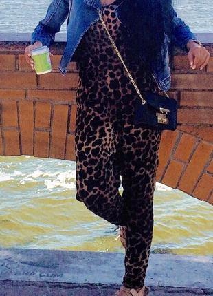 Леопардовий комбез hm