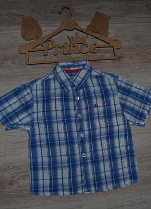 Рубашка шведка тениска rebel 2-3г