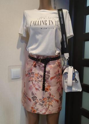 Крутая мини юбка прямого покроя в китайской стиле вечерняя