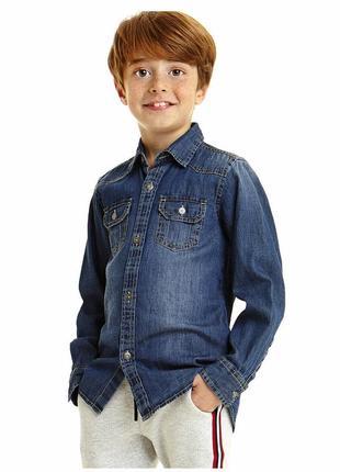 1,5-2 года, рубашка котоновая rebel.