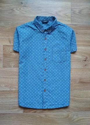 Джинсовая тениска