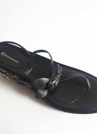 Босоножки вьетнамки rockport by adidas натур кожа р 39 40