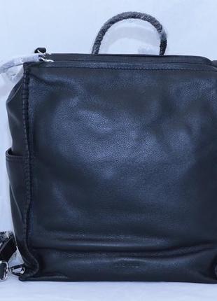 Рюкзак итальянского бренда cromia, в черном цвете.