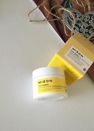 Витаминный крем-гель для лица от mizon