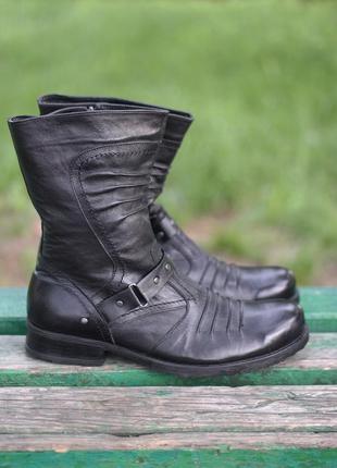 Зимние ботинки на натурал меху bistfor