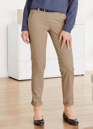 Качественные универсальные брюки cnino, хлопок, tchibo(германия)