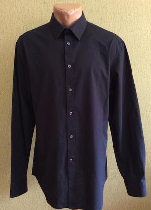 Мужская рубашка calvin klein slim fit оригинал  размер 16 43/45