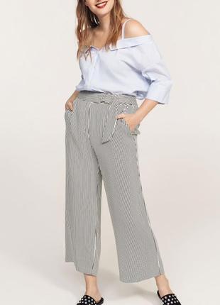 Стильные брюки кюлоты mango