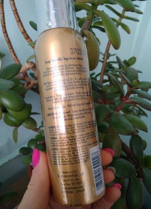 Sally hansen жидкие колготки спрей крем с шиммером airbrush shimmer leg spray3 фото