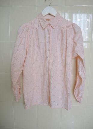Винтажная кружевная блузка